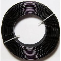 Alambre Aluminio Negro 2mm