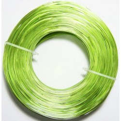 Alambre Aluminio Verde Pistacho 1mm