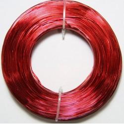 Alambre Aluminio Rojo 1mm