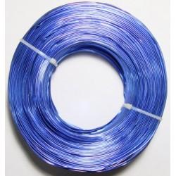 Alambre Aluminio Azul 1mm