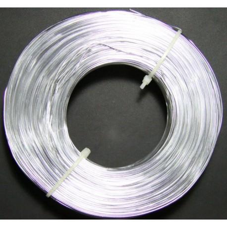 Alambre Aluminio Plateado 1.2mm