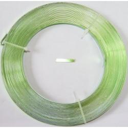 Lamina de Aluminio verde pistacho