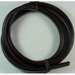 cuero regaliz marron oscuro