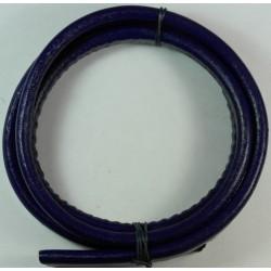 cuero regaliz azul oscuro