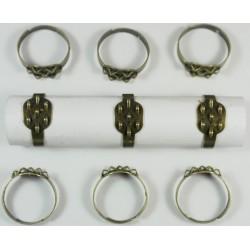 base de anillos 7