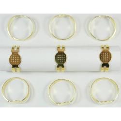base de anillos 10