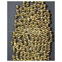 Bola Metal Dorado 5mm.