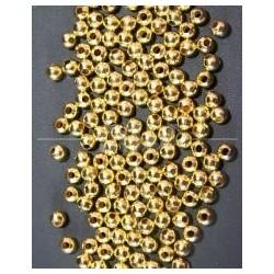 Bola Metal Dorado 6mm.
