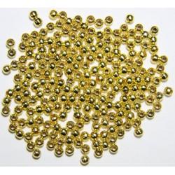 Bola Metal Dorado 4mm.