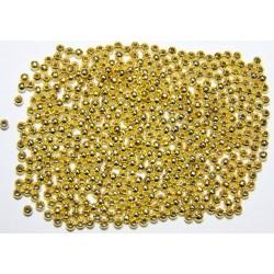 Bola Metal Dorado 3mm.