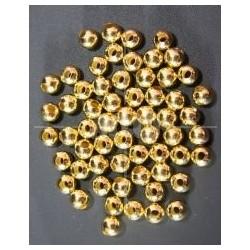 Bola Metal Dorado 8mm.
