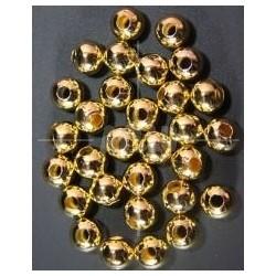Bola Metal Dorado 12mm.