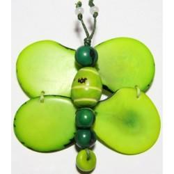 Broche Tawa Libelula Verde