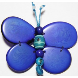 Broche Tawa Libelula Azul