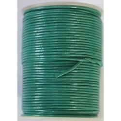 Cordon de Cuero Turquesa 1.5mm
