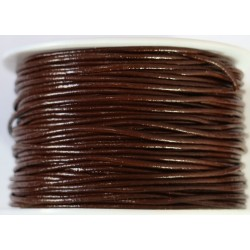 Cordon de Cuero Marron 1.5mm