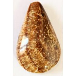 Piedra Ranurada Cabujon Aragonita Gota